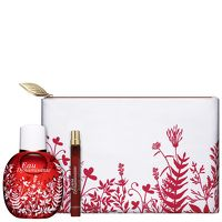 The iconic scent of Clarins Eau Dynamisante is now available in this 3 piece limited edition set. It combines the fragrance and skincare benefits of plants for a great, long lasting feel. It has essential oils and extracts to help the skin and is also non-comedeogenic and paraben free. Set contains: Eau Dynamisante Spray, 100ml Eau Dynamisante Refillable spray, 10ml Cosmetic Zip Pouch