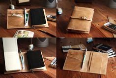 Pocket Moleskine cover. Travel journal by JustWanderlustShop