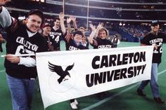 """By Kristy Strauss Carleton University alumni will discover a great chance to get """"thrown back"""" to their university days when the first official homecoming Carleton University, School Sports, Great Night, A Decade, Sorority, Homecoming, Athlete, Raven, Pride"""