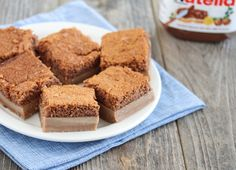 Nutella Magic Custard Cake