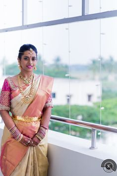 A lot of us have a lot of dreams about our wedding! But this bride here, imagined and planned even the smallest of things and executed it the best way possible! I don't know which I like better – her sarees or jewellery or makeup or décor! I am sure even you are all confused! Let's hear it all from her. Happy to feature Shalini Grosu as the bride of the month! Hello readers! I am Shalini from Nellore. Like most couples, even mine was an arranged marri...