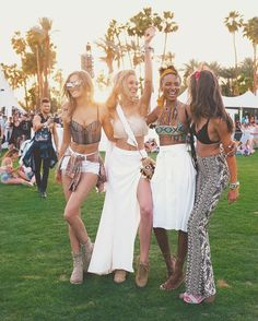 #Coachella crew. Shop @taylor_hill and @josephineskriver's tops via link in bio.