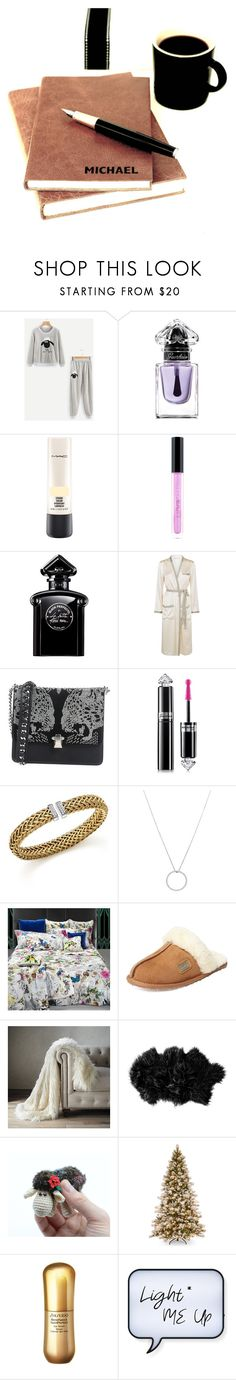 """""""Settle down"""" by knmaem on Polyvore featuring Guerlain, MAC Cosmetics, Huda Beauty, Morgan Lane, Roberto Cavalli, Roberto Coin, Australia Luxe Collective, Frontgate, Child Of Wild and Shiseido"""