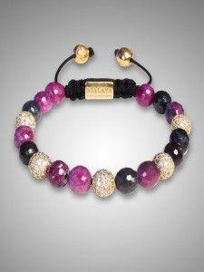Shamballa Karma armband met natuursteen