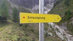Wandern zum Ennsursprung - oberhalb der Oberennsalm in Flachauwinkl #wasser #enns #wandern #visitflachau