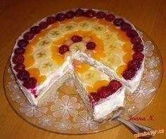 Ovocný dort s mascarpone
