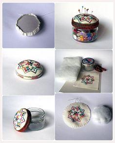 iğnelik nasıl yapılır, iğne düğme kutusu nasıl yapılır, iğnelik yapımı, düğme kutusu yapımı, iğnelik, düğmelik,