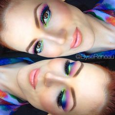 Urban Decay Electric Palette, Spring Makeup tutorial