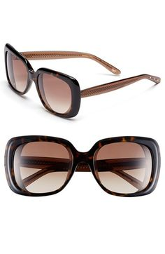 Bottega Veneta 56mm Oversized Sunglasses