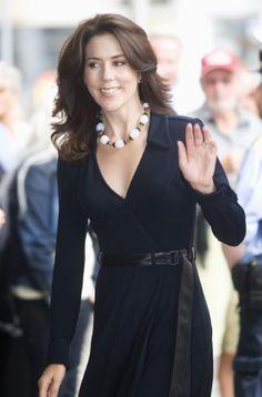 Crown Princess Mary of Denmark / look the hair style