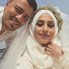Wedding dresses hijab muslim couples 44 ideas for 2020 Cute Muslim Couples, Cute Couples, Hijabi Wedding, Wedding Dresses, Niqab, Modele Hijab, Hijab Bride, Muslim Brides, Bridal And Formal