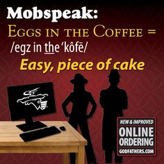 With our online ordering, getting a pizza delivered is EGGS IN THE COFFEE! #pizza #godfatherspizza
