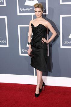 Glee stars go glam at the Grammys