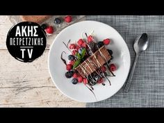 Semifreddo σοκολάτας Επ. 48 | Kitchen Lab TV | Άκης Πετρετζίκης - YouTube Greek Recipes, Waffles, Breakfast, Tableware, Food, Youtube, Morning Coffee, Dinnerware, Tablewares