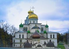 New Jerusalem Monastery, considered to be one of the most beautiful in Russia, is located in the Moscow-area town of Istra