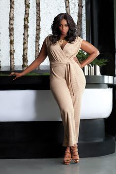 black plus size model monique robinson