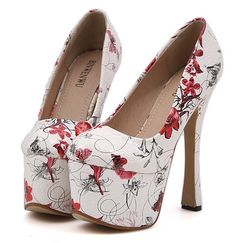 Sexy Style Waterproof High Heels Pumps--Click the picture to visit our website>>Shop price:US$ 12.38 .#cheap#fashion#clothes#shoes#activewear#tops#wholesale#sexy dress#blouse#t-shirts#handbags#underwears#