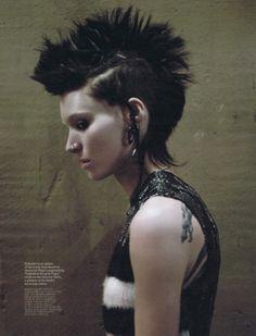 Lisbeth Sslander Mara Rooney The Girl WIth The Dragon Tattoo