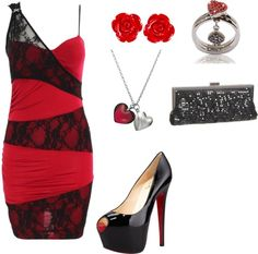 """Queen of Hearts Homecoming 2"" by jubi493 on Polyvore"