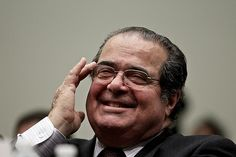 Scalia probably knows what he's talking about. After all, this is a guy who, in a decision delivered just yesterday, helped gut the Voting Rights Act, one of the most important pieces of legislation ever passed by Congress and one that was reauthorized in 2006 by votes of 390-33 in the House and 98-0 in the Senate, yet spends two-thirds of this very dissent arguing that the Supreme Court is a bunch of black-robed tyrants when they invalidate a law passed by Congress