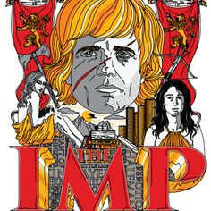 """TODAY'S TEE: """"The Imp""""! Designed by Huckblade. 3 shirt colors. $11 only! For 24 hours! www.unamee.com."""