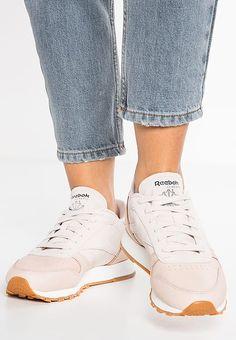 Reebok Classic CLASSIC LEATHER GOLDEN NEUTRALS - Sneaker low - sandtrap/rose gold/chalk - Zalando.de