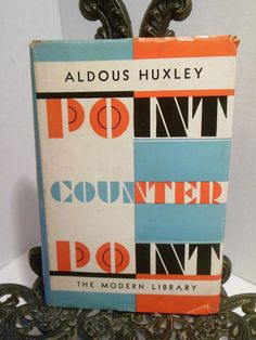 Huxley Aldous Point Counterpoint Epub