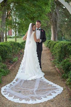 Finally a wedding veil that cost less than my dress!!! LOVE!