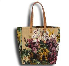 Le Dana, Cabas en Canevas et Sac Tapisserie Esprit Floral