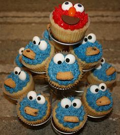 possible 2nd bday party idea. {cookies & milk theme... maybe with elmo too}