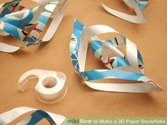 Image titled Make a 3D Paper Snowflake Step 7