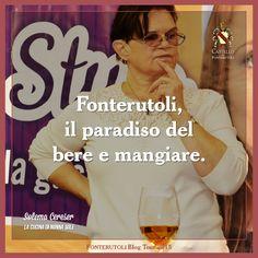 La dedica di Solema Cereser sulle giornate del blog tour a Fonterutoli. @marchesimazzei #mazzei #fonterutoli #tuscany #wine