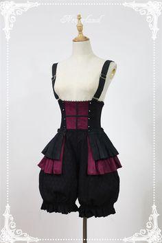 Neverland Lolita (SouffleSong) -Night of the Long Shadows- Ouji Lolita Short Pants