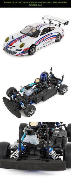 KYO33203B Kyosho FW06 Porsche 911 GT3 RSR ReadySet 1/10 Nitro Touring Car #plans #shopping #fpv #33203b #911 #parts #products #fw-06 #camera #kit #tech #technology #porsche #gt3 #kyosho #gadgets #racing #drone