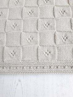 Hand Knitted Baby Throw / Luxury Baby Afghan / Moses Basket Blanket / Merino/Cashmere Baby Shawl / Newborn Baby Shower Gift - Care - Skin care , beauty ideas and skin care tips Baby Knitting Patterns, Hand Knitting, Baby Afghans, Baby Shawl, Knitted Blankets, Baby Shower Gifts, New Baby Products, Knitted Baby, Knit Crochet