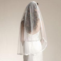 >> Click to Buy << One Layer Bridal Veil White Ivory Bridal Veil High Quality Fingertip Length Wedding Accessory Veil with Comb Veu De Noiva Longo #Affiliate