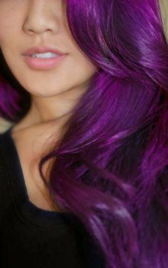 Hair Colour: Purple Hair