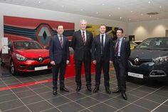 Arnold Clark opens the UK's largest Renault showroom in Hillington.