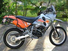 KTM 640 LC4 Adventure R. #motorcycles