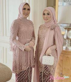 Kebaya Muslim, Dress Brokat Muslim, Kebaya Hijab, Kebaya Dress, Muslim Dress, Dress Pesta, Muslim Hijab, Model Kebaya Brokat Modern, Kebaya Modern Hijab
