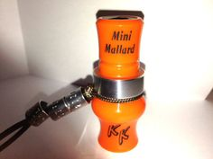 "KILLERKALLZ PERSONALIZED MINI MALLARD DUCK CALL NECKLACE THIS IS A REAL CALL 2""HOW WOULD YOU LIKE A PERSONALIZED MINI MALLARD NECKLACE THAT REALLY WORKS DUCKS??? THE NEW MINI MALLARD DUCK CALL NECKLACE WILL DO JUST THAT... AND THESE WE WILL PERSONALIZE JUST FOR YOU , NAME, NICK NAME, ETC ON THE TONE BOARD OF THE CALL WHERE MINI MALLARD IS SHOWN... JUST CLICK HERE TO ORDER AND TO LISTEN TO A SOUND FILE OF THESE LIL CALLS AND YOU WILL BE SUPRISED .... SEE KILLERKALLZCUSTOMCALLS EBAY STORE"