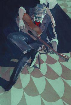 Booker Dewitt (Bioshock), an art print by Qistina Khalidah - INPRNT Bioshock Infinite, Bioshock 2, Bioshock Artwork, Bioshock Series, Bioshock Rapture, Columbia Bioshock, Videogames, Character Art, Character Design