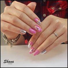 Galeria – Studio Shana Manicure, Nails, Studios, Painting, Beauty, Instagram, Nail Bar, Finger Nails, Ongles