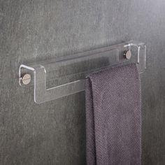 Portasalviette - Porta Asciugamano in plexiglass in due misure disponibili: 35 cm e 45 cm. Prodotto di alta qualità, resistente e durevole. #design #plexiglass #arredo #arredamento #LuceSolida