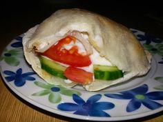 Betti gluténmentes konyhája: Gyros pitában