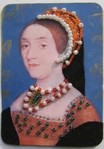 Fifth wife of King Henry VIII of England. Wives Of Henry Viii, King Henry Viii, Anne Of Cleves, Anne Boleyn, Henry's Wives, Katherine Howard, Artist Card, Artist Trading Cards, Small Art