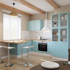Угловые кухни - галерея проектов кухонь в Леруа Мерлен