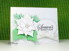 Spellbinders Layered poinsettias die, M S pine branch punch                                                                                                                                                           Inspired                            ..