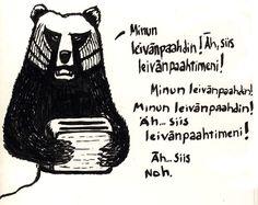 Pintajuuria: Karhun itseilmaisu