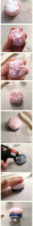 Diy cute pin cushion